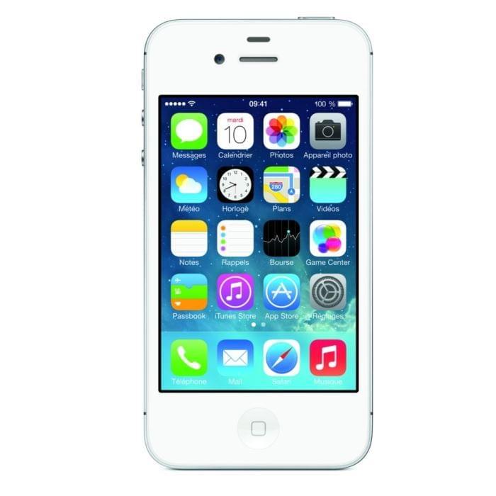 Apple iPhone 4S 8Go White (MF266FD/A) - Achat / Vente Téléphonie sur Cybertek.fr - 0