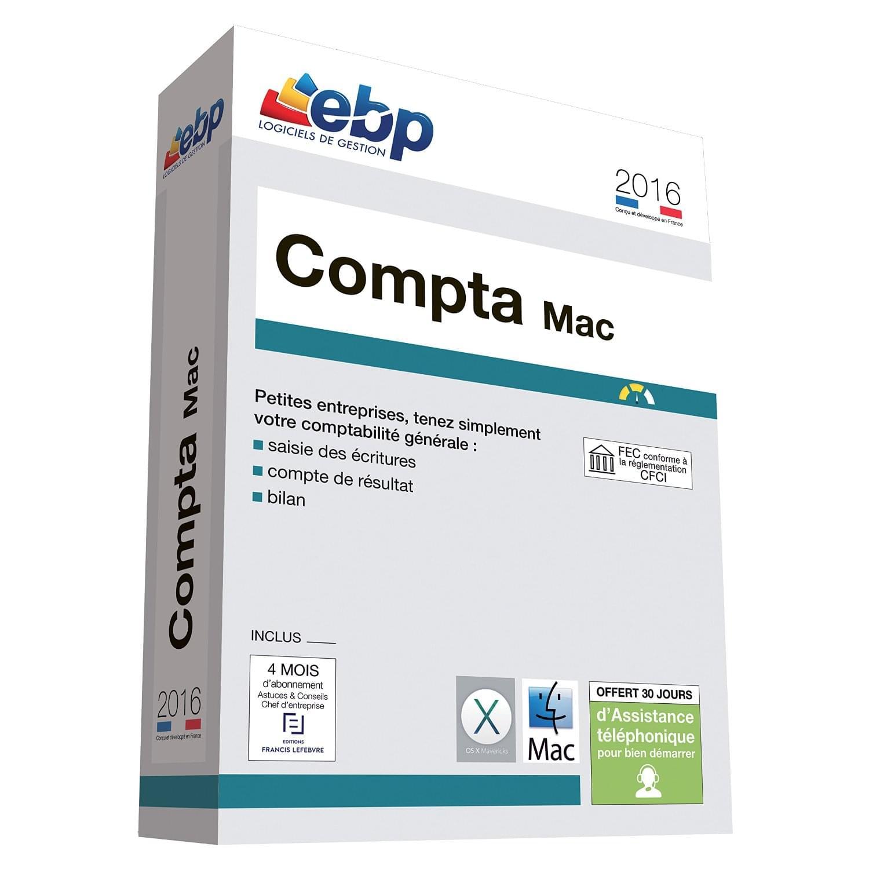EBP Compta MAC 2016 (1096J080FAA) - Achat / Vente Logiciel application sur Cybertek.fr - 0