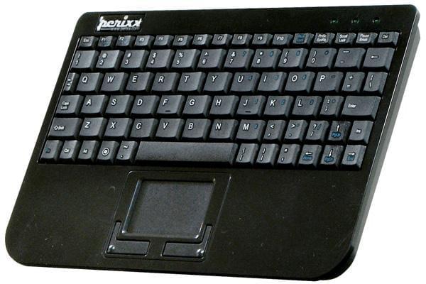 Perixx PERIBOARD-710 Mini Clavier sans fil avec Touchpad (PERI710 soldé) - Achat / Vente Clavier PC sur Cybertek.fr - 0