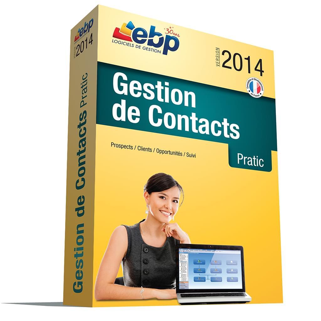 EBP Gestion de Contacts Pratic 2014 (1009E060FAB) - Achat / Vente Logiciel Application sur Cybertek.fr - 0