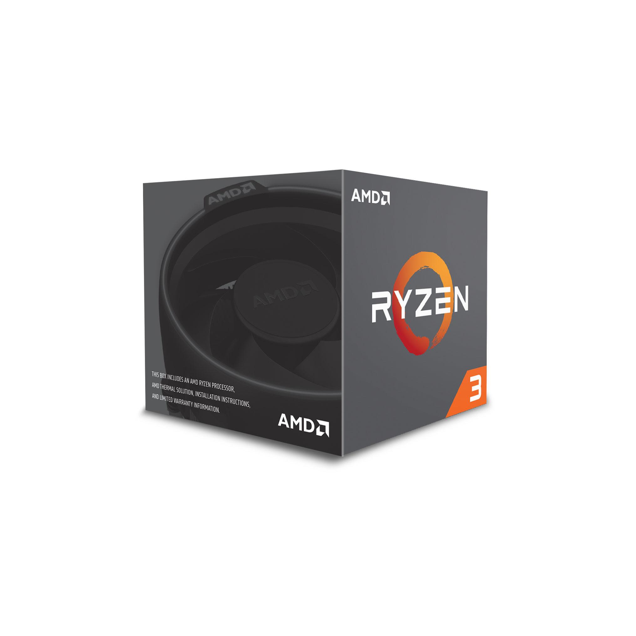 AMD Ryzen 3 1200 - 3.4GHz - Processeur AMD - Cybertek.fr - 1