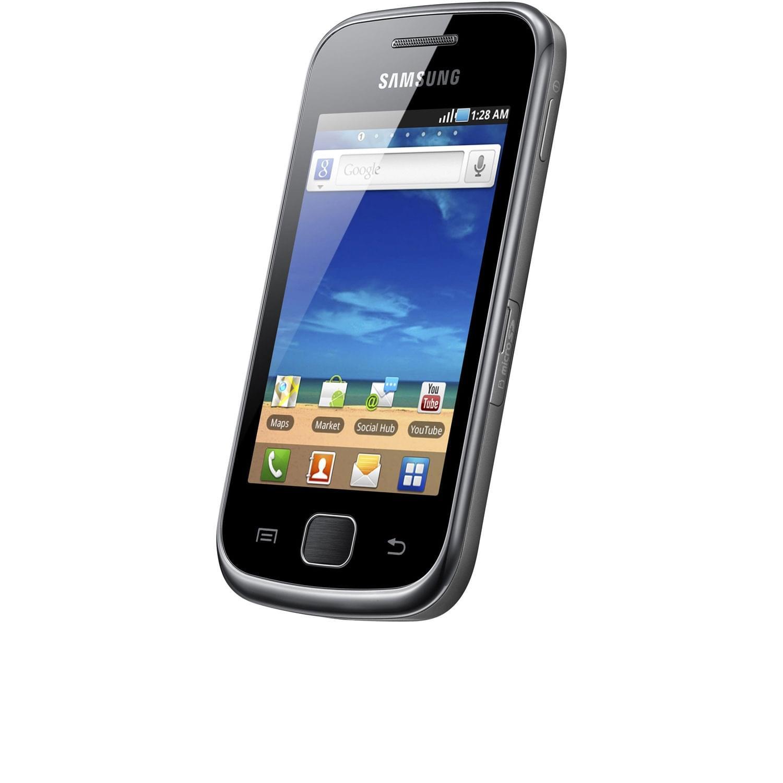 Samsung Galaxy Gio Noir S5660 - Téléphonie Samsung - Cybertek.fr - 0