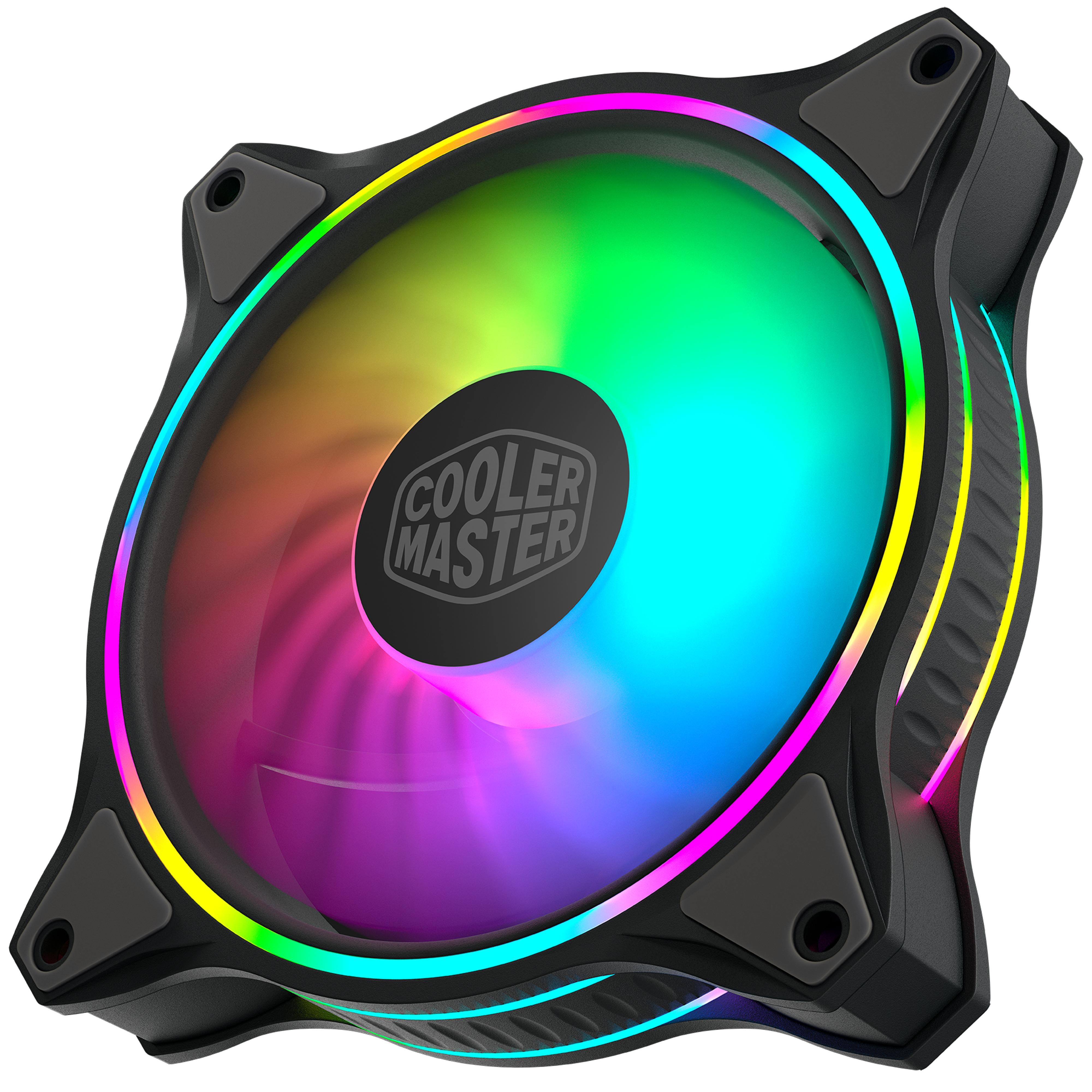 Cooler Master MasterFan MF120 Halo ARGB - Ventilateur boîtier - 1
