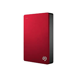 "Cybertek Disque dur externe Seagate 4To 2""1/2 USB3 Backup Plus Rouge - STDR4000902"