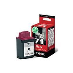 Cartouche N°71 Noire Haute resolution - 15MX971E pour imprimante Jet d'encre Lexmark - 0