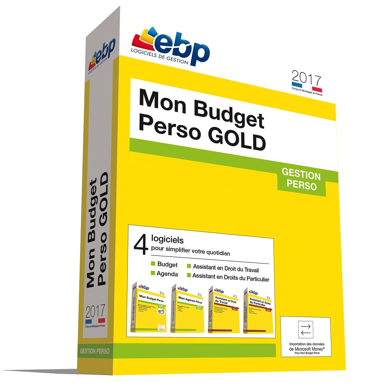 EBP Mon Budget Perso GOLD 2017 (1181E170FAA) - Achat / Vente Logiciel application sur Cybertek.fr - 0