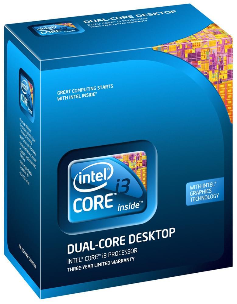 Intel Core i3 540 - 3.06GHz - Processeur Intel - Cybertek.fr - 0
