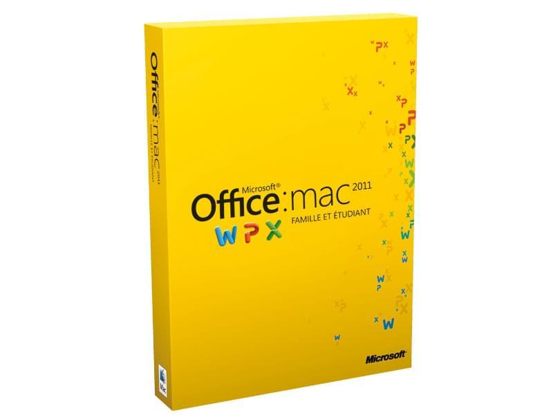 Microsoft Office for Mac Home and Business 2011 multi (W9F-00016) - Achat / Vente Logiciel suite bureautique sur Cybertek.fr - 0