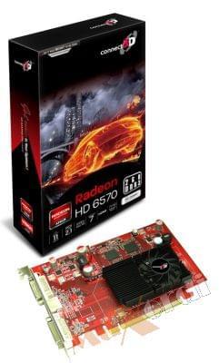 Connect 3D Radeon HD 6570 (C3D-H6570-2GD3E-HD) - Achat / Vente Carte Graphique sur Cybertek.fr - 0