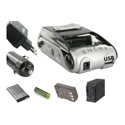 Chargeur Universel pour batterie lithium-ion -AA99 -  Compatible - 0