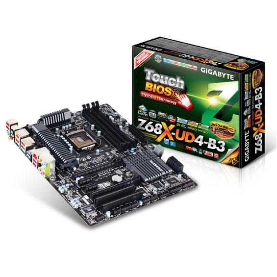 Gigabyte Z68X-UD4-B3 ATX DDR3 - Carte mère Gigabyte - Cybertek.fr - 0