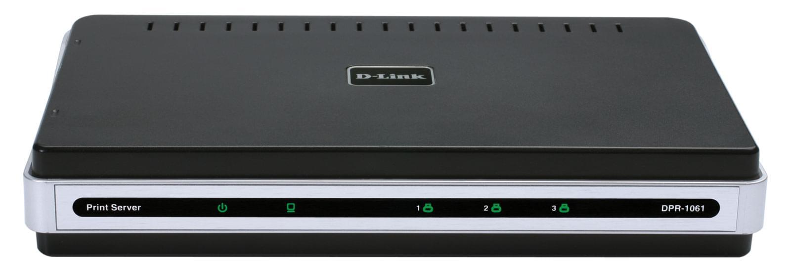 D-Link Serveur d'impression DPR-1061 (1//+2USB) (DPR-1061) - Achat / Vente Réseau divers sur Cybertek.fr - 0