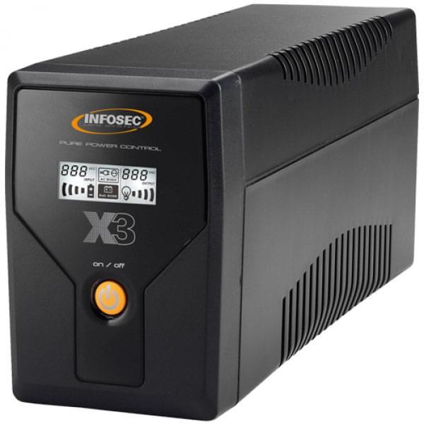 X3 EX LCD USB-800 - In-Line - Onduleur Infosec - Cybertek.fr - 0