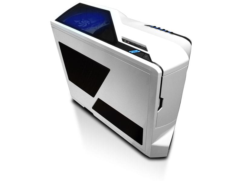 NZXT Phantom White - Boîtier PC Acier - Sans Alim - 0