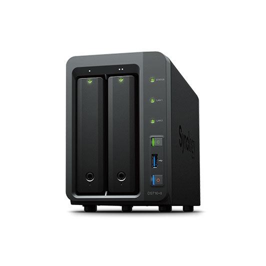 Synology Disk Station Ds716+ II - 2xHDD - Serveur NAS Synology - 0
