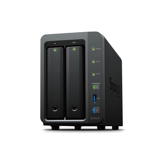 Synology Disk Station Ds716+ II (DS716+II **) - Achat / Vente Serveur NAS sur Cybertek.fr - 0