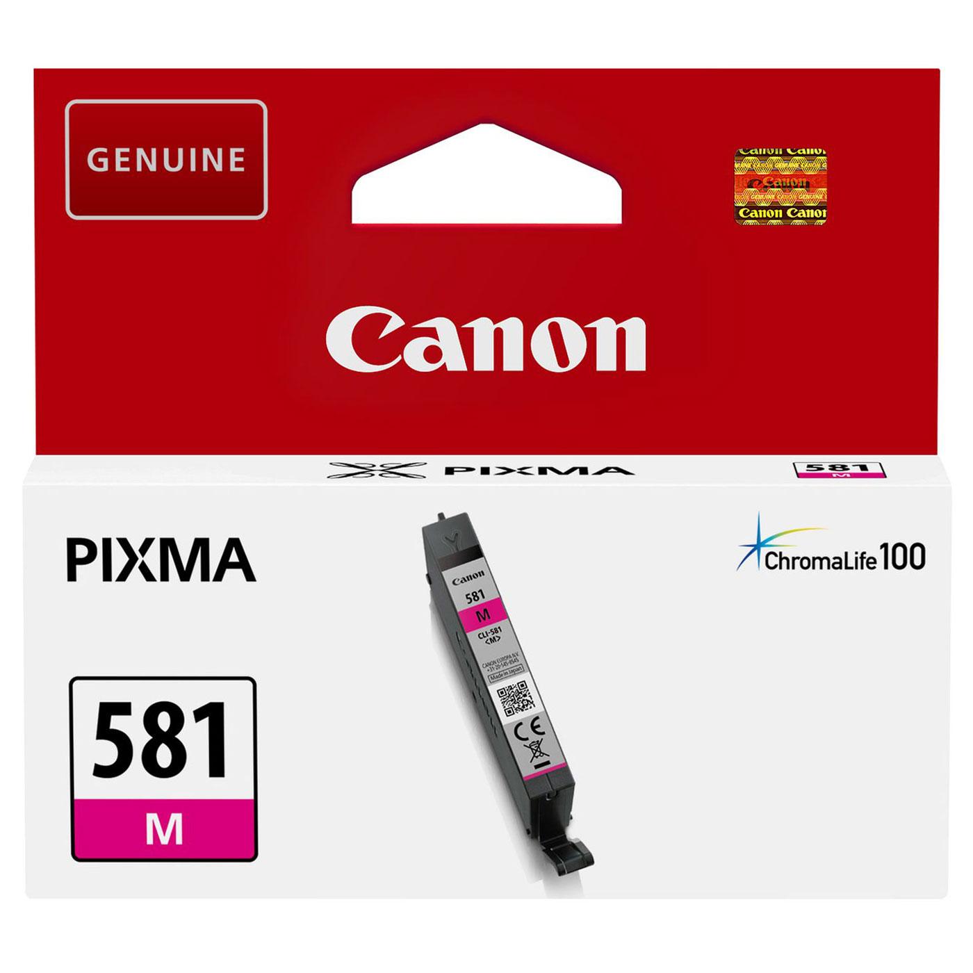 Cartouche Magenta CLI-581 M - 2104C001 pour imprimante  Canon - 0