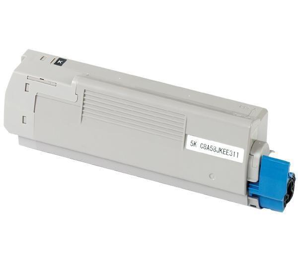 Toner 6000p Noir - 43324424 pour imprimante Laser Oki - 0