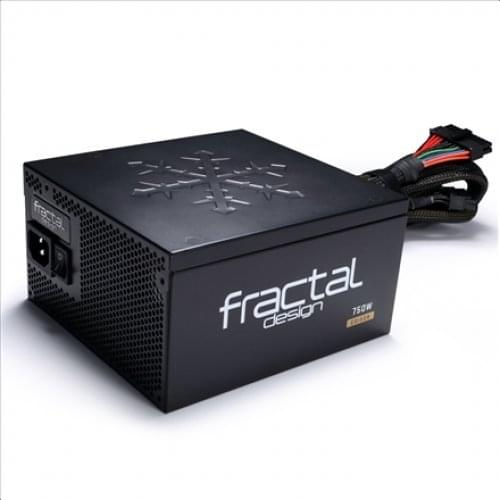 Fractal Design ATX 750 Watts Edison M 750 80+ Gold Modulaire (FD-PSU-ED1B-750W-EU) - Achat / Vente Alimentation sur Cybertek.fr - 0