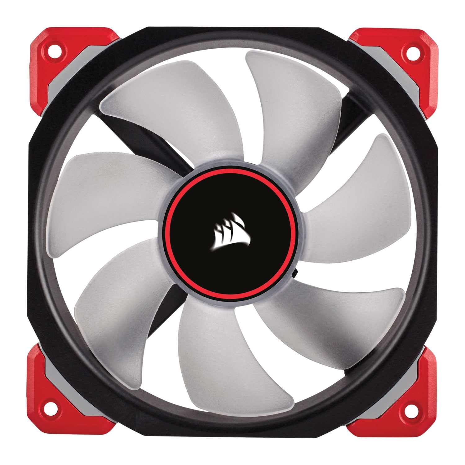 Corsair ML120 PRO LED RED 120mm - Ventilateur boîtier Corsair - 1