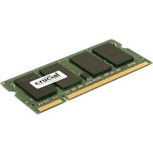 Crucial SO-DIMM 4Go DDR3 1600 1.35V/1.5V CT51264BF160BJ SO-DDR3 - Mémoire PC portable - 0