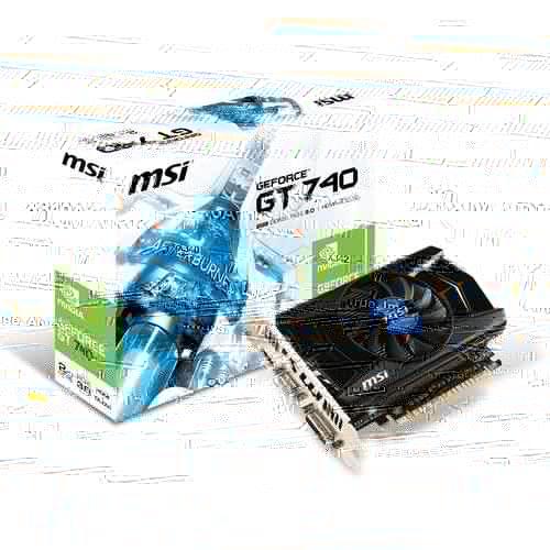 MSI N740-2GD5 (N740-2GD5) - Achat / Vente Carte Graphique sur Cybertek.fr - 0