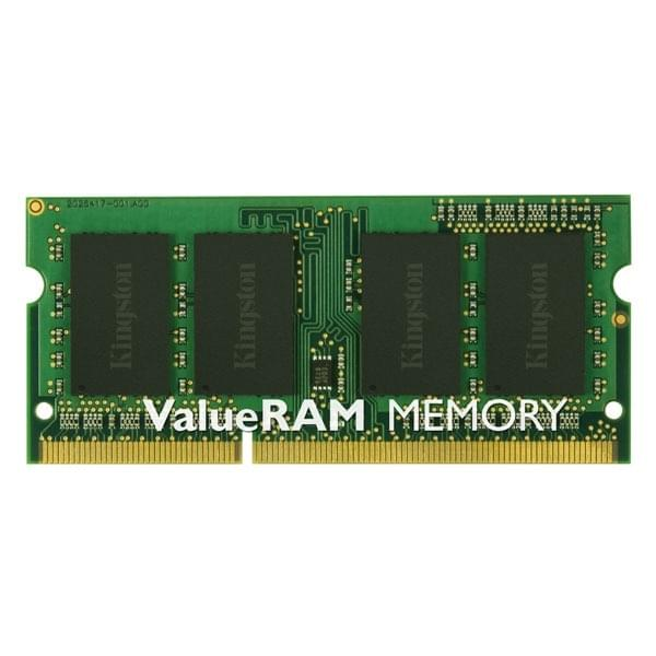Kingston SO-DIMM 4Go DDR3 1333 1.5V KVR13S9S8/4 SO-DDR3 - Mémoire PC portable - 0