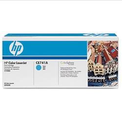 Toner 307A Cyan 7300p - CE741A pour imprimante Laser HP - 0
