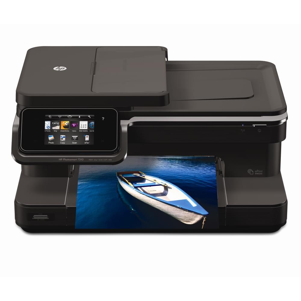 HP PhotoSmart 7510 e-All-In-One (CQ877B#BGW) - Achat / Vente Imprimante Multifonction sur Cybertek.fr - 0