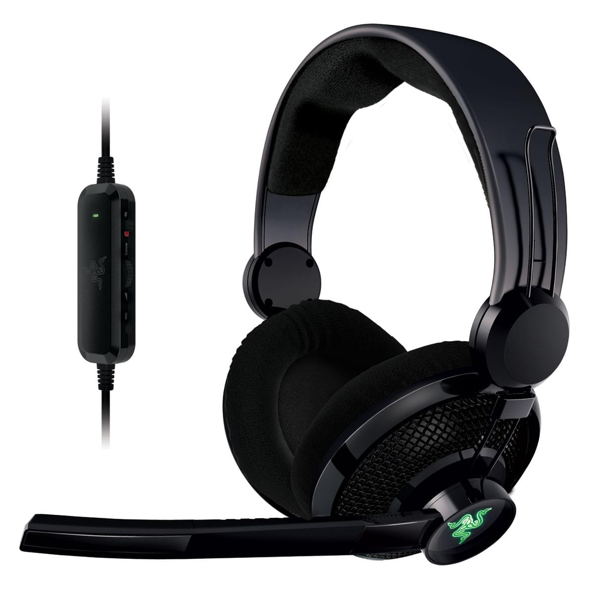 Razer Carcharias XBOX 360/PC (RZ04-00900100-R3M1) - Achat / Vente Micro-casque sur Cybertek.fr - 0