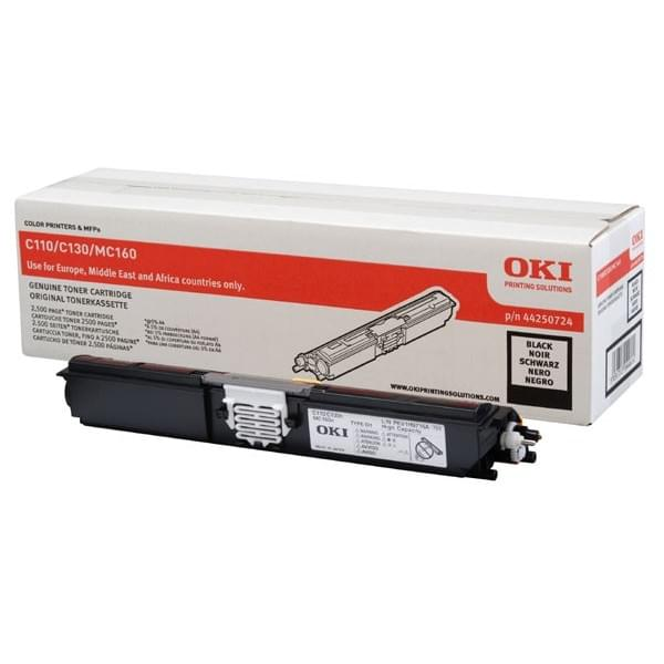 Toner Black 2500p - 44250724 pour imprimante Laser Oki - 0