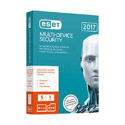 ESET Multi-Device Security 2017 - 1 An / 5 Appareils - Logiciel sécurité - 0