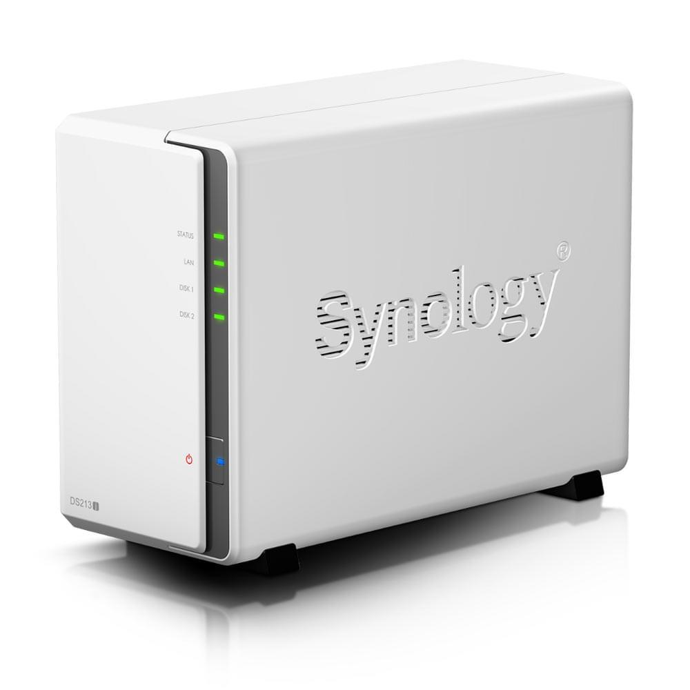 Synology DS215J (DS215J) - Achat / Vente Serveur NAS sur Cybertek.fr - 0