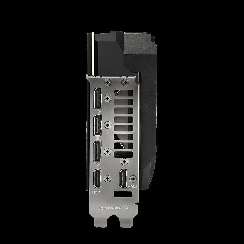 Asus ROG-STRIX-RTX3080-O10G-GAMING LHR - Carte graphique Asus - 1