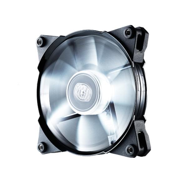 Cooler Master Jetflo 120 White LED R4-JFDP-20PW-R1 - Ventilateur CPU - 0