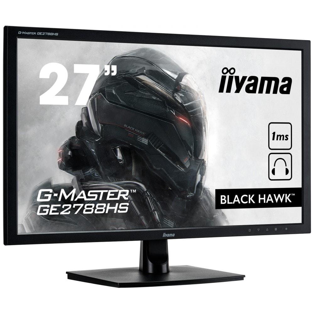 Iiyama Black Hawk G-Master - GE2788HS-B2 (GE2788HS-B2) - Achat / Vente Ecran PC sur Cybertek.fr - 0