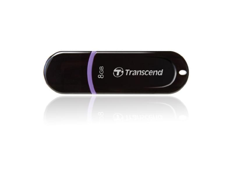 Transcend 8Go USB 2.0 JETFLASH NOIR - Clé USB Transcend - 0