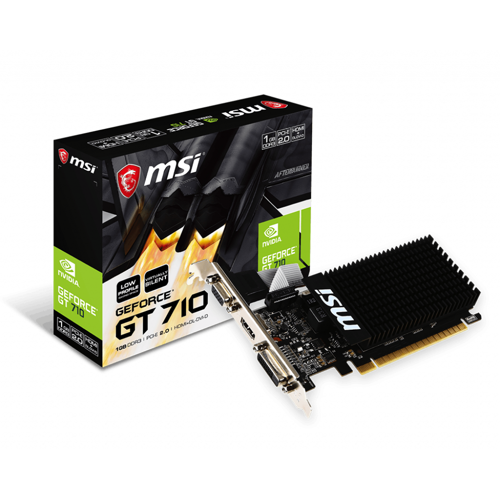 MSI GT 710 1GD3H LP 1Go - Carte graphique MSI - Cybertek.fr - 0