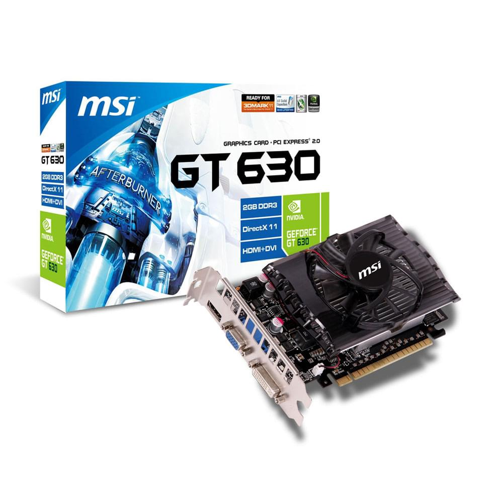 MSI N630GT-MD2GD3 2Go - Carte graphique MSI - Cybertek.fr - 0