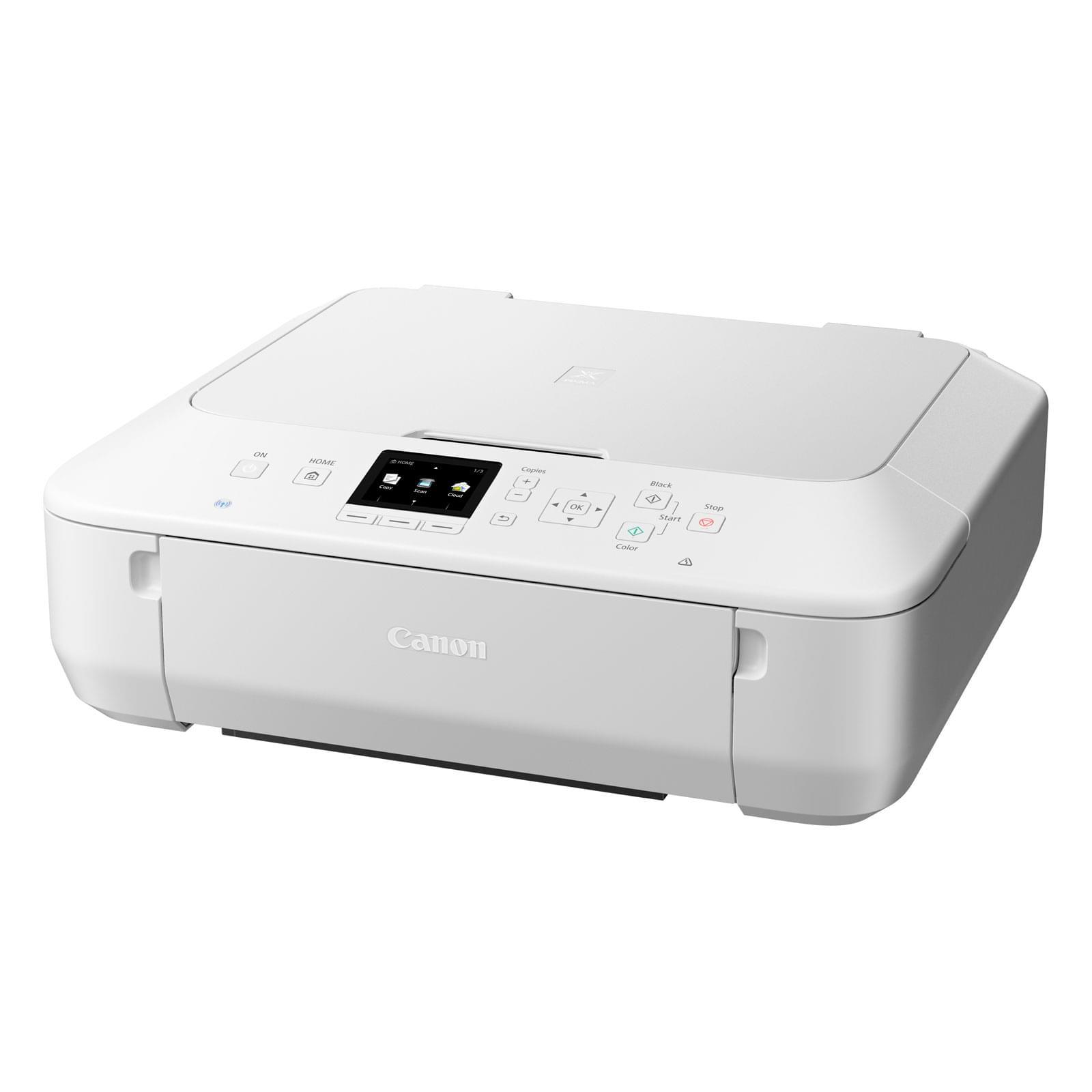 Imprimante multifonction Canon PIXMA MG5650 Blanche - Cybertek.fr - 0