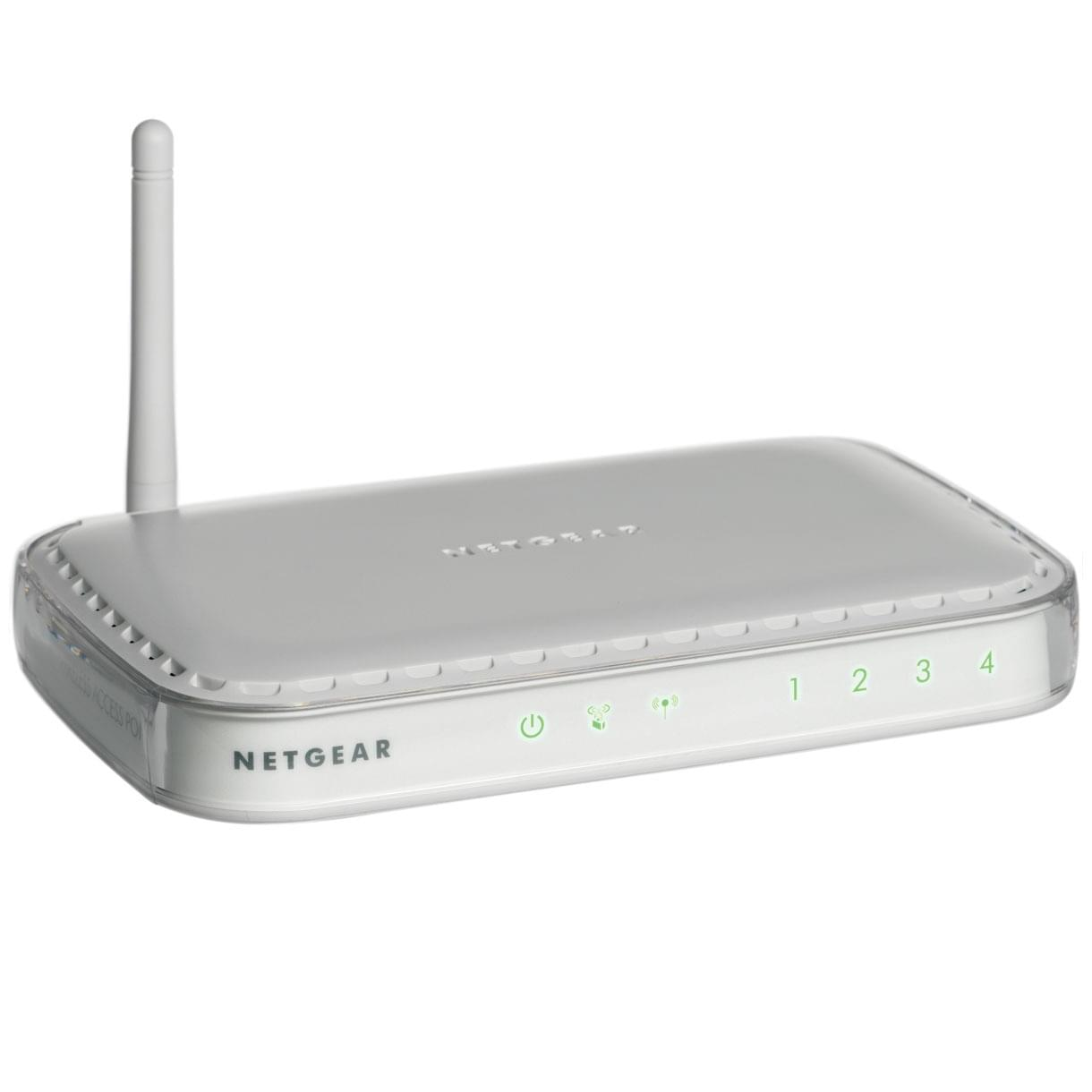 Netgear WN604 Wireless-N 150 Access Point (WN604-100PES) - Achat / Vente Réseau Point d'accès Wifi sur Cybertek.fr - 0