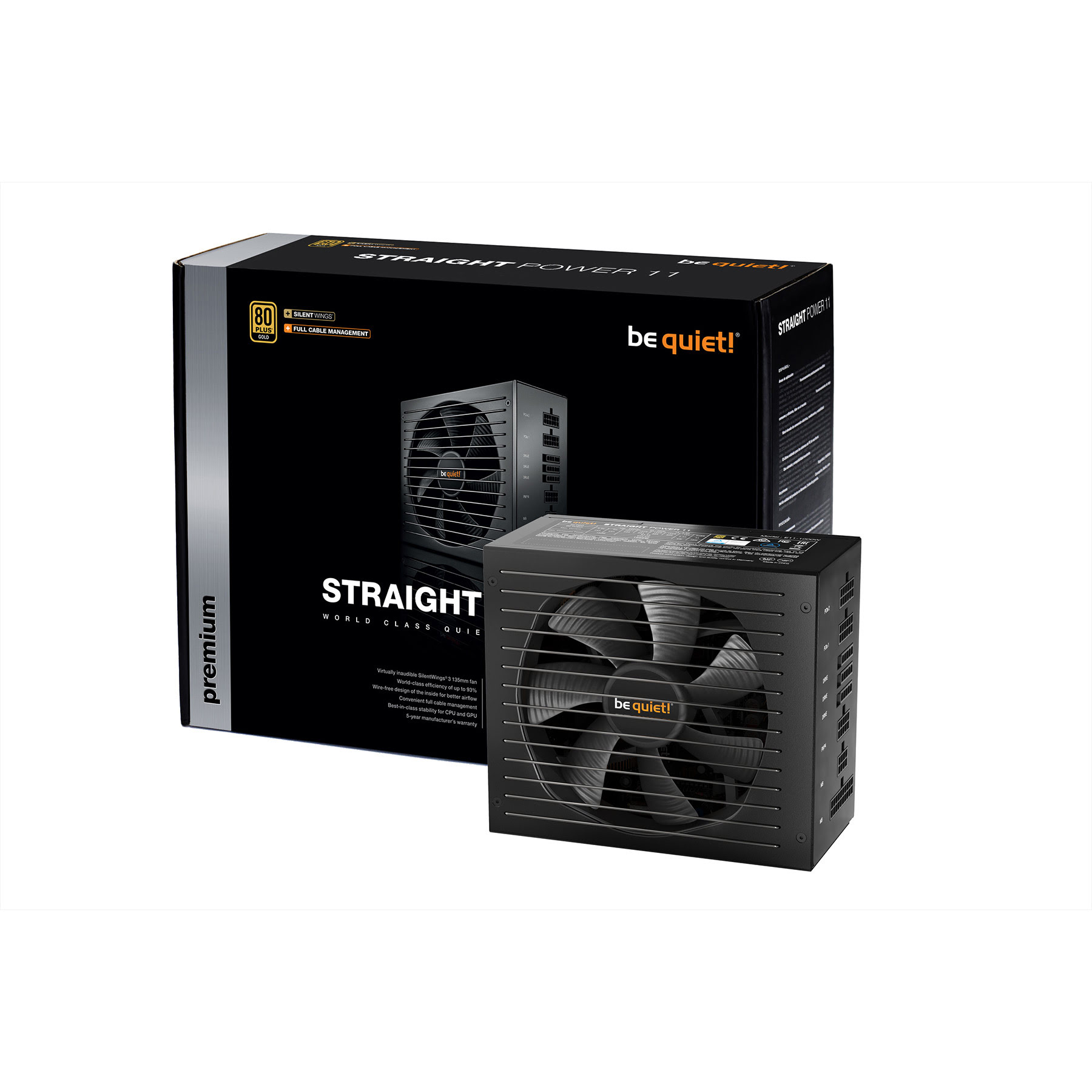 Be Quiet! Straight Power 11 80+ GOLD (450W) - Alimentation - 0