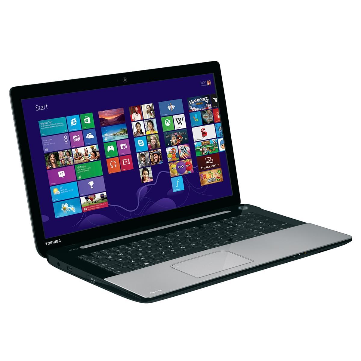 Toshiba L70-B-153 (PSKRYE-00300NFRBUN1) - Achat / Vente PC Portable sur Cybertek.fr - 0