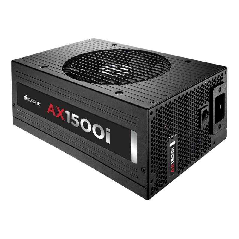 Alimentation PC Corsair ATX 1500 Watts AX1500i Full Modulaire 80+ Platinum - 0