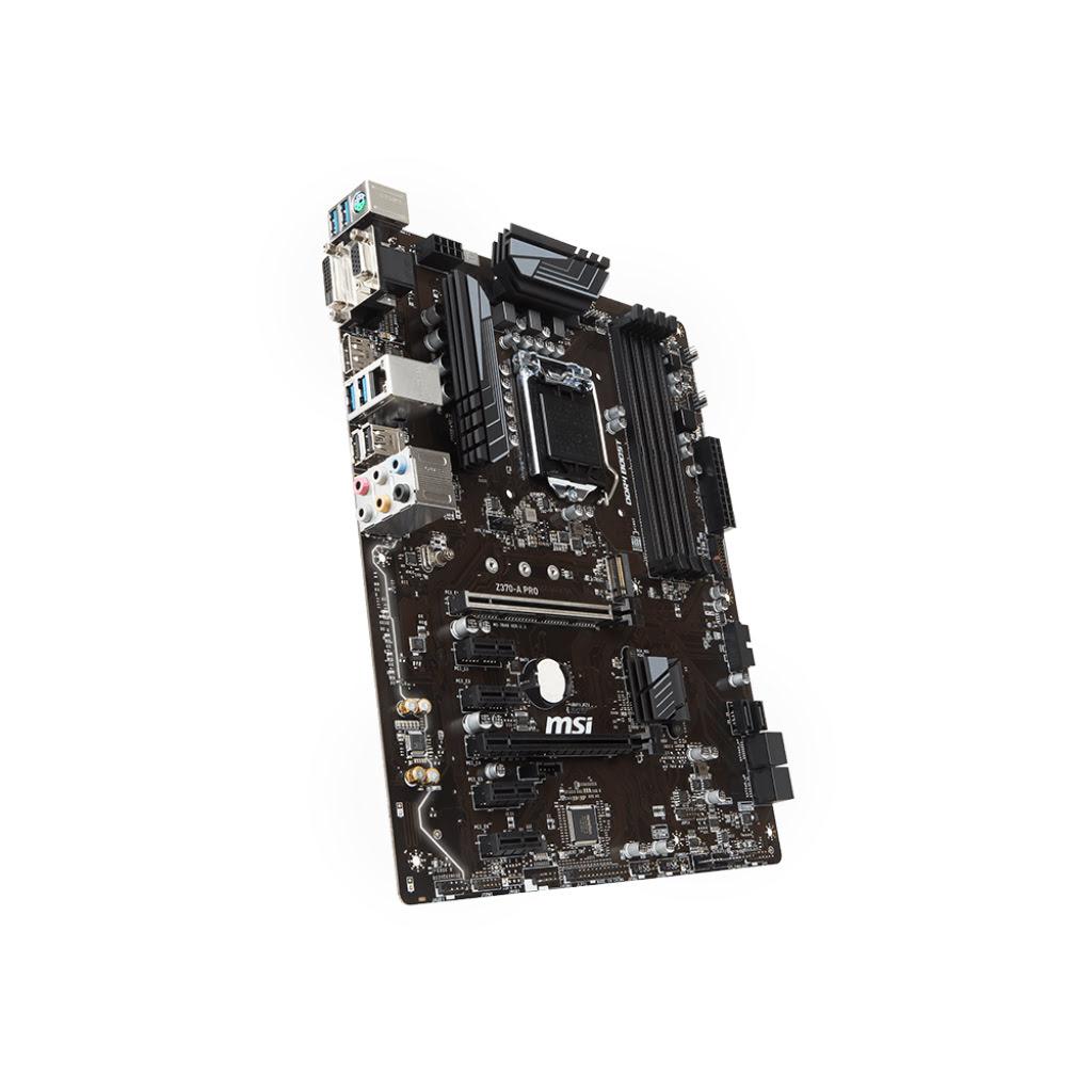 MSI Z370-A PRO ATX DDR4 - Carte mère MSI - Cybertek.fr - 3