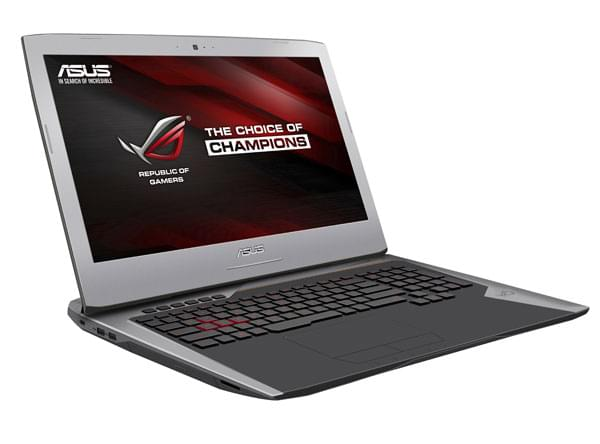 "Asus G752VT-GC040T -i7-6700/16G/256G+1T/GTX970/17.3""/10 (90NB09X1-M00410) - Achat / Vente PC Portable sur Cybertek.fr - 0"