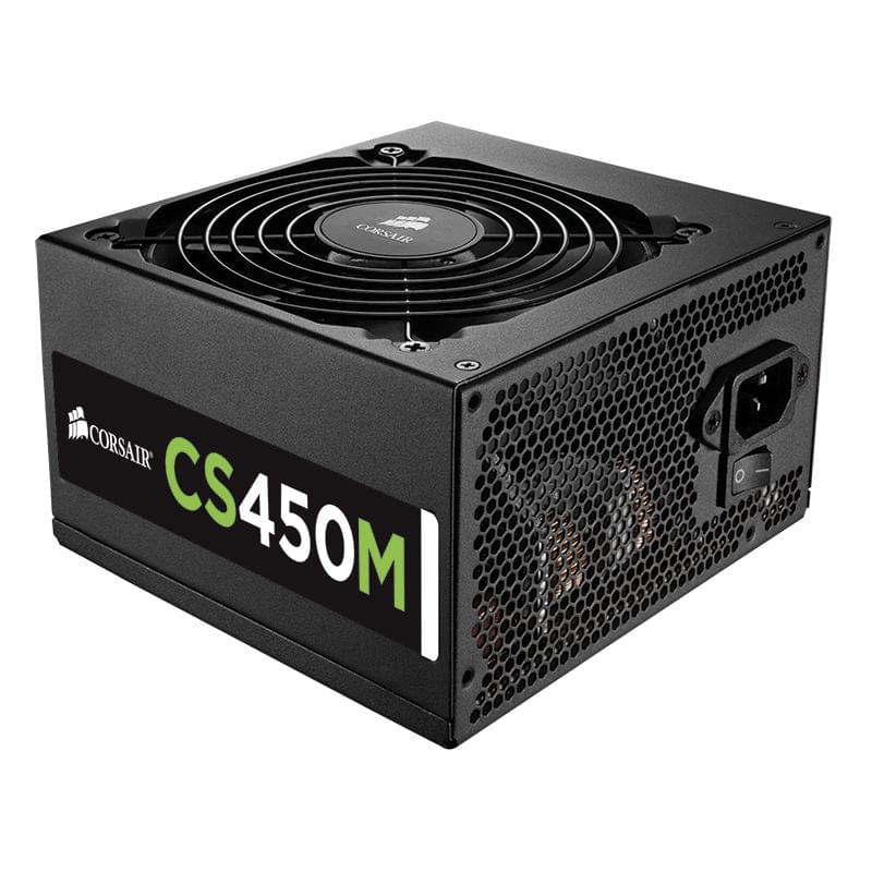 Alimentation PC Corsair ATX 450 Watts CSM450 80+ Gold Modulaire - 0