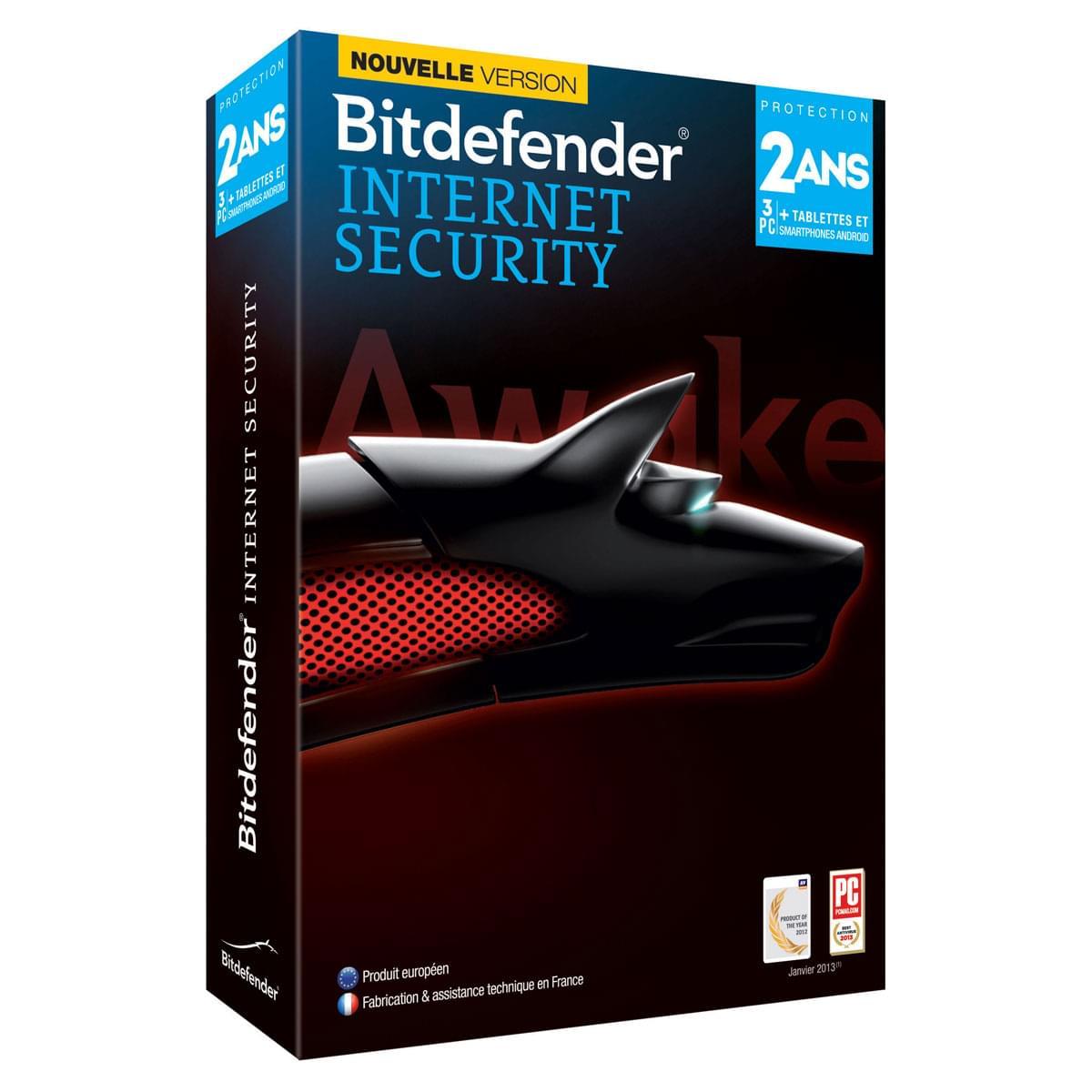 Bitdefender Internet Security 2014 (B-FBDIS-4X2P003) - Achat / Vente Logiciel sécurité sur Cybertek.fr - 0