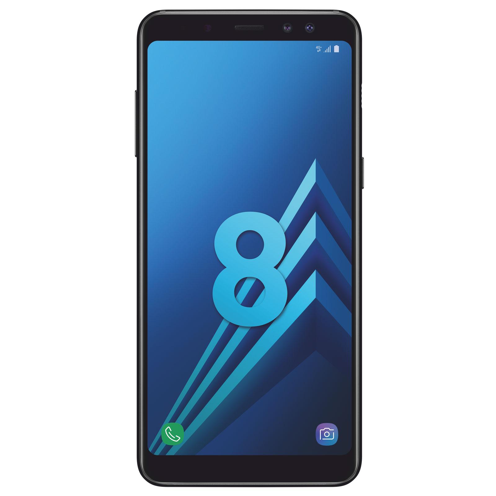 Samsung Galaxy A8 A530 32Go Noir Dual Sim (SM-A530FZKDXEF) - Achat / Vente Téléphonie sur Cybertek.fr - 0
