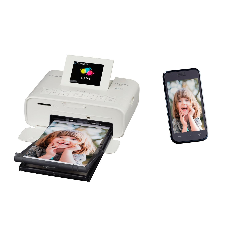 Imprimante Canon SELPHY CP1200 Blanche - Cybertek.fr - 2